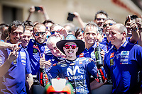 MAVERICK VINALES - SPANISH - MOVISTAR YAMAHA MotoGP - YAMAHA<br /> Austin 23-4-2018 Moto Gp USA <br /> Grand Prix of The Americas<br /> Foto Vincent Guignet / Panoramic / Insidefoto