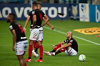 27th December 2020; Arena de Gremio, Porto Alegre, Brazil; Brazilian Serie A, Gremio versus Atletico Goianiense; Dudu of Atletico Goianiense looks on frustrated as his team concedes a  goal in the 44th minute 1-0
