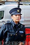Garda Orla O'Shea at Kenmare Court on Friday.