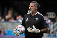 SAN JOSE, CA - AUGUST 13: Carlos Roa Assistant Coach of the San Jose Earthquakes before a game between San Jose Earthquakes and Vancouver Whitecaps at PayPal Park on August 13, 2021 in San Jose, California.
