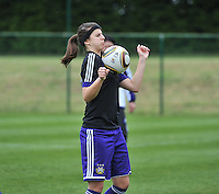 RSC Anderlecht Dames - FC Twente : Laura De Neve.foto DAVID CATRY / Nikonpro.be