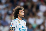 Marcelo Vieira Da Silva of Real Madrid looks on during their La Liga 2017-18 match between Real Madrid and Valencia CF at the Estadio Santiago Bernabeu on 27 August 2017 in Madrid, Spain. Photo by Diego Gonzalez / Power Sport Images