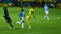 2nd February 2021; Rugby Park, Kilmarnock, East Ayrshire, Scotland; Scottish Premiership Football, Kilmarnock versus Celtic; Odsonne Edouard of Celtic shoots past keeper Doyle of Kilmarnock and makes it 3-0 in the 62nd minute