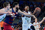 Unicaja's Jamar Smith during Quarter Finals match of 2017 King's Cup at Fernando Buesa Arena in Vitoria, Spain. February 17, 2017. (ALTERPHOTOS/BorjaB.Hojas)
