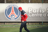 PAP0213410.BECKHAM FIRST PARIS TRAINING /NortePhoto
