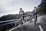 Team Giant-Alpecin training camp held around Cambrils, Spain.<br /> Photo: Team Giant-Alpecin/www.newsfile.ie
