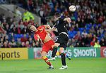 14th August 2013 - Cardiff - UK : Wales v Republic of Ireland - Vauxhall International Friendly at Cardiff City Stadium :