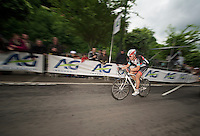 1 lap to go for Stijn Devolder (BE)<br /> <br /> Belgian Championchips 2013