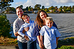Benicia Waterfront Family Portraits with the St John Family.