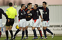 26/12/2004  Copyright Pic : James Stewart.File Name : jspa04_falkirk_v_airdrie.DAYRLL DUFFY CELEBRATES AFTER SCORING FALKIRK'S FIRST....Payments to :.James Stewart Photo Agency 19 Carronlea Drive, Falkirk. FK2 8DN      Vat Reg No. 607 6932 25.Office     : +44 (0)1324 570906     .Mobile   : +44 (0)7721 416997.Fax         : +44 (0)1324 570906.E-mail  :  jim@jspa.co.uk.If you require further information then contact Jim Stewart on any of the numbers above.........