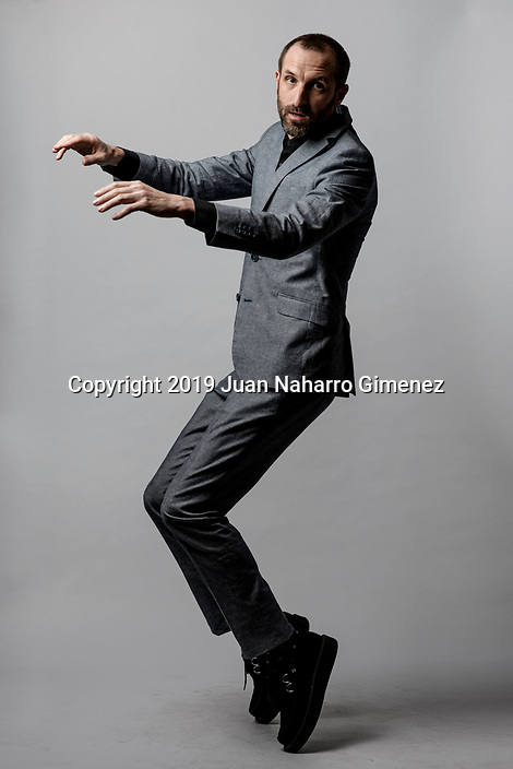 Julian Villagran poses during a portrait session.