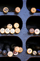 17 March 2007: New York Mets team bats lie ready for action against the Washington Nationals at Tradition Field in Port St. Lucie, Florida...Mandatory Photo Credit: Ed Wolfstein Photo