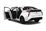 Car images close up view of a 2018 Toyota Prius Lounge 5 Door Hatchback doors