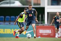 12th November 2020; Granja Comary, Teresopolis, Rio de Janeiro, Brazil; Qatar 2022 World Cup qualifiers; Everton of Brazil during training session