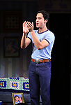 """Michael Hsu Rosen during the Broadway Opening Night Curtain Call for """"Torch Song"""" at the Hayes Theater on November 1, 2018 in New York City."""