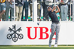 Carlos Pigem of Spain tees off the first hole during the 58th UBS Hong Kong Golf Open as part of the European Tour on 08 December 2016, at the Hong Kong Golf Club, Fanling, Hong Kong, China. Photo by Marcio Rodrigo Machado / Power Sport Images