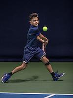 Hilversum, Netherlands, December 4, 2016, Winter Youth Circuit Masters, Noah Gabriel (NED)<br /> Photo: Tennisimages/Henk Koster