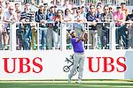 Shiv Kapur of India tees off the first hole during the 58th UBS Hong Kong Golf Open as part of the European Tour on 10 December 2016, at the Hong Kong Golf Club, Fanling, Hong Kong, China. Photo by Marcio Rodrigo Machado / Power Sport Images
