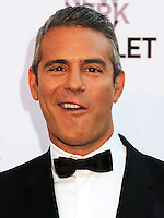 NEW YORK CITY, NY, USA - SEPTEMBER 23: Andy Cohen arrives at the New York City Ballet 2014 Fall Gala held at the David H. Koch Theatre at Lincoln Center on September 23, 2014 in New York City, New York, United States. (Photo by Celebrity Monitor)