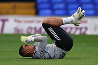 16th September 2020; Portman Road, Ipswich, Suffolk, England, English Football League Cup, Carabao Cup, Ipswich Town versus Fulham; Alphonse Areola of Fulham during the warm up