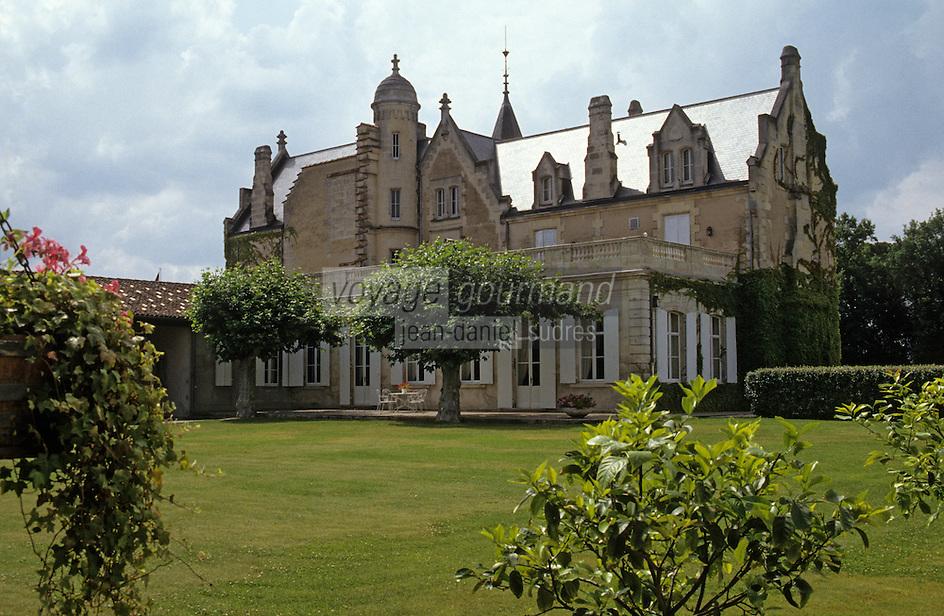 Europe/France/Aquitaine/33/Gironde: château Lascombes (AOC Médoc Margaux) [Non destiné à un usage publicitaire - Not intended for an advertising use]