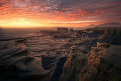 I was fortunate enough to be in the right place at the right time to witness this breathtaking sunrise over one of the most unusual landscapes in the world.