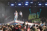 AMAZONAS, LÁBREA, 01.09.2019: FESTA DO SOL-LÁBREA. Show de Maiara e Maraisa na Festa do Sol na tarde deste domingo (1), na praia no Município de Lábrea, no sul do Amazonas.<br /> Foto: Sandro Pereira/Codigo19