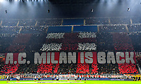 Milan supporters during the Uefa Champions League group B football match between AC Milan and Atletico Madrid at San Siro stadium in Milano (Italy), September 28th, 2021. Photo Andrea Staccioli / Insidefoto