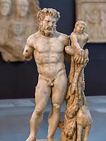 römische Skulpturen im Nationalmuseum, Belgrad, Serbien, Europa<br /> Roman sculptures in the Natioanal Museum,  Belgrade, Serbia, Europe
