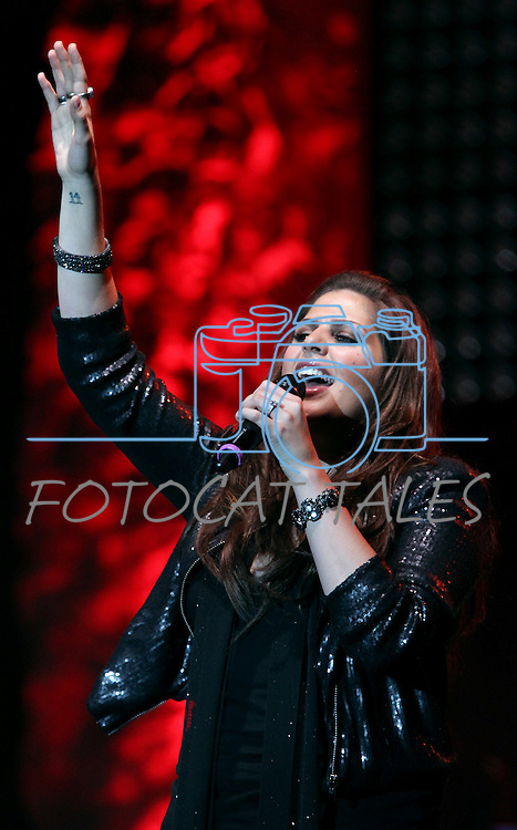 Hillary Scott of Lady Antebellum performs at Harveys Lake Tahoe in Stateline, Nev., on Friday, July 29, 2011. .Photo by Cathleen Allison