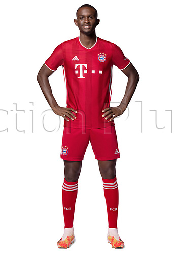 26th October 2020, Munich, Germany; Bayern Munich official seasons portraits for season 2020-21;  Tanguy Nianzou Kouassi