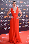 Leonor Watling attends to the Red Carpet of the Goya Awards 2017 at Madrid Marriott Auditorium Hotel in Madrid, Spain. February 04, 2017. (ALTERPHOTOS/BorjaB.Hojas)