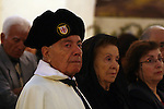 Palestinian Christians attend a special mass held at the Holy Family Church in the Palestinian West Bank city of Ramallah on January 2, 2011 to commemorate the victims of the New Year bomb attack against a Coptic church in the Egyptian port city of Alexandria which has hit Egypt's Christian community, the biggest in the Middle East less than 48 hours ago. Photo by Issam Rimawi