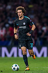 David Luiz of Chelsea FC in action during the UEFA Champions League 2017-18 match between Atletico de Madrid and Chelsea FC at the Wanda Metropolitano on 27 September 2017, in Madrid, Spain. Photo by Diego Gonzalez / Power Sport Images
