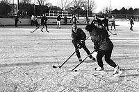 hockey exterieur (pas de model release)