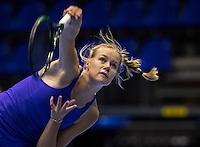 Rotterdam, Netherlands, December 14, 2016, Topsportcentrum, Lotto NK Tennis,  Nina Kuijer (NED)<br /> Photo: Tennisimages/Henk Koster