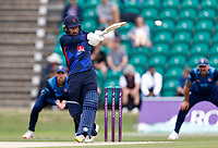 Josh Bohannon bats for Lancashire during Kent Spitfires vs Lancashire, Royal London One-Day Cup Cricket at The Kent County Cricket Ground on 28th July 2021