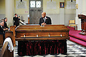 Rep. John Lewis at former US Rep. Lindy Boggs'  funeral at St. Louis Cathedral, New Orleans, Aug. 1, 2013.