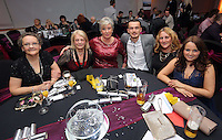 Pictured: Suzanne Eames (C)<br /> Re: Swansea City FC Christmas party at the Liberty Stadium, south Wales, UK.
