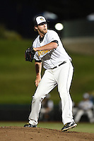 South Bend Silver Hawks pitcher Tom Jameson (29) delivers a pitch during a game against the Dayton Dragons on August 20, 2014 at Four Winds Field in South Bend, Indiana.  Dayton defeated South Bend 5-3.  (Mike Janes/Four Seam Images)