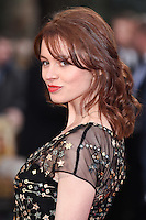 """Sarah Winter<br /> arrives for the """"Florence Foster Jenkins"""" European premiere at the Odeon Leicester Square, London<br /> <br /> <br /> ©Ash Knotek  D3106 12/04/2016"""