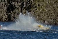 Frame 3: Serena Durr 96-F, Erin Pittman 6-H crash. (Outboard Hydroplanes)