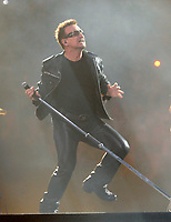 SMG_Bono_CLOSE_U2 360 Tour_062911_05.JPG<br /> <br /> MIAMI, FL - JUNE 29:  Bono,The Edge, Adam Clayton, and Larry Mullen Jr. of U2 perform at Sun Life Stadium.  on June 29, 2011 in Miami Gardens, Florida.  (Photo By Storms Media Group)<br />  <br /> People:   Bono<br /> <br /> Must call if interested<br /> Michael Storms<br /> Storms Media Group Inc.<br /> 305-632-3400 - Cell<br /> 305-513-5783 - Fax<br /> MikeStorm@aol.com