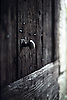 ancient wooden door with knocker<br /> <br /> alte Holztür mit Griff<br /> <br /> 565 x 378 px<br /> Original: 35 mm slide transparency
