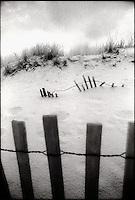 Submerged Dune fence<br />