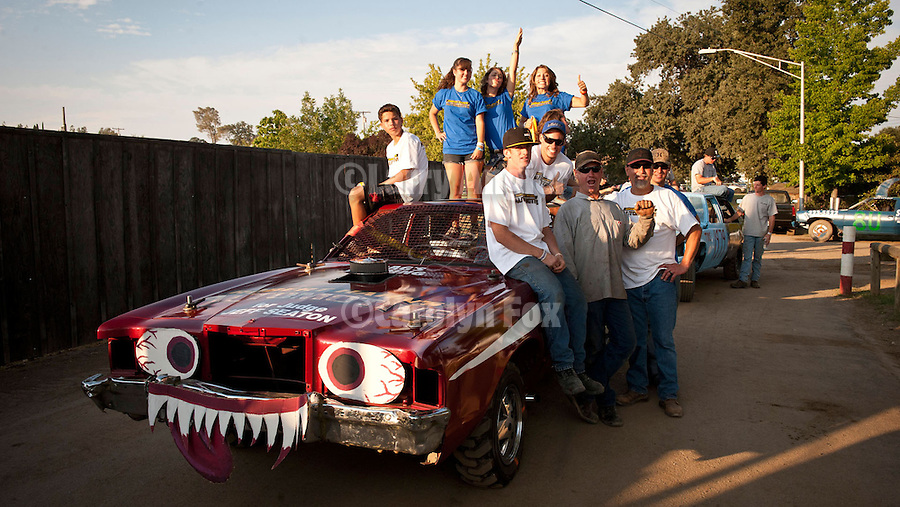 73rd Amador County Fair, Plymouth, Calif.<br /> <br /> Miss Amador winners and the Destruction Derby