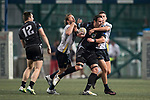 King's College at UQ vs Kir Club Pyrenees during the Plate Final as part of the GFI HKFC Rugby Tens 2017 on 06 April 2017 in Hong Kong Football Club, Hong Kong, China. Photo by Juan Manuel Serrano / Power Sport Images