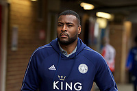 Wes Morgan of Leicester City arriving pre match during the FA Cup 4th round match between Brentford and Leicester City at Griffin Park, London, England on 25 January 2020. Photo by Andy Aleks.