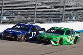 #18: Kyle Busch, Joe Gibbs Racing, Toyota Camry Interstate Batteries, #17: Chris Buescher, Roush Fenway Racing, Ford Mustang Fastenal
