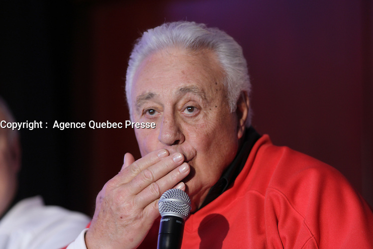 Phil Esposito<br /> , 9 fevrier 2016.<br /> <br /> PHOTO :   Agence Quebec Presse